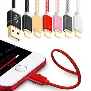 1M 2M 3M USB Data Charger Charging Cable fit for iPhone iOS 6 7 8s Plus X 11 12