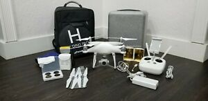 DJI Phantom 4 Advanced Ready to Fly Drone - White with Accessories
