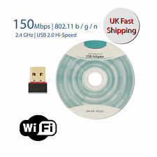 USB Wi-Fi Dongle for Wireless Internet for Windows PC Mac Book 802.11 B G N