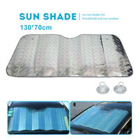 CAR FRONT WINDSCREEN UV Shield SUNSHADE SUN SHADE SCREEN COVER-LARGE 130*70cm
