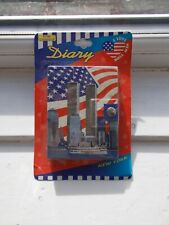 More details for vintage flomo i love new york diary with twin towers pre 9/11