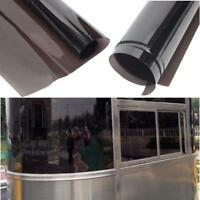 8/% VLT, 6m x 65cm, 2 Ply, Limo Black Tint Solar Van And Vehicles BLACKGLASS IX Window Tint Film Premium Quality Tinting Film Roll For Car Glare and Privacy Film With Installation Instructions