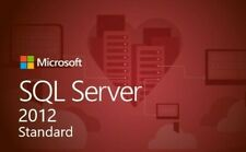 SQL Server 2012 Standard 20 cores Unlimited Cal product key/30 SEC DELIVERY
