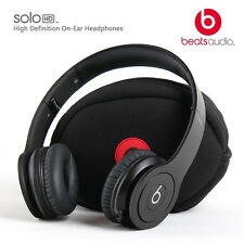 Beats by Dr. Dre Solo HD Headband Headphones Monochromatic Matte black