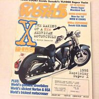 Cycle World Magazine Excelsior Super X BMW K1200RS January 1997 061917nonrh