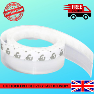 Door Draft seal Weather strip Draught Excluder Adhesive Tape Rubber Window UKNEW