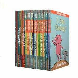Elephant and Piggie Complete Collection Box Set 25 Books by Mo Willems