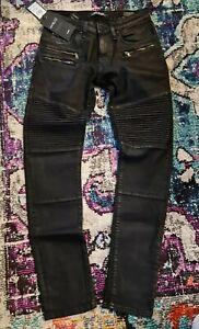 MAVI Mod.JIM  W30/L32 Super Skinny Herrenhose NP.EUR 89,95 Jeans Black Coated