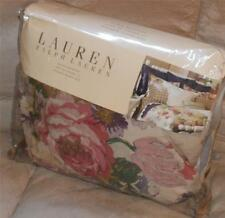 Ralph Lauren SURREY GARDEN FLORAL King Bedskirt Multi Color NWT