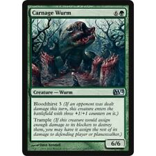 MTG core set M12 4x 4 x Carnage Wurm x4 MINT PACK FRESH UNPLAYED 2012
