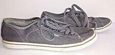 VANS Womens Sneakers Shoes US Size 6 Grey Gray Canvas