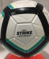 Nike New Strike Soccer Ball Size -5 Multi Color/White/Black SC3126 100