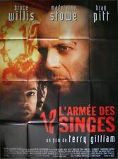 L'ARMEE DES 12 SINGES Affiche Cinéma Pliée 160x120 Movie Poster Terry Gilliam