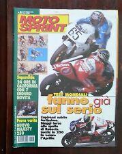 34965 Motosprint a. XXV n. 8 2000 - Capirossi Biaggi Roberts
