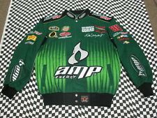 Dale Earnhardt Jr Green AMP Cotton Twill JH Adult 2XL Jacket!