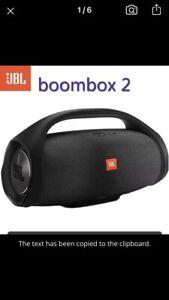 jbl bluetooth speaker Boombox