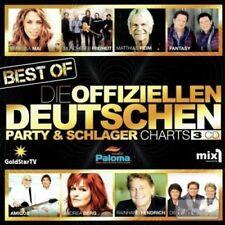 DIE OFFIZIELLEN PARTY- UND SCHLAGERCHARTS - ANDREA BERG/UDO JÜRGENS/+ 3 CD NEUF