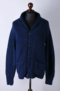 Polo by Ralph Lauren Classic Button Front Cardigan Jumper Size L