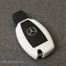 Tasto Bianco Cover Per Mercedes Smart Remote Fob 2 3 4 pulsante dello scafo Bag 70gw