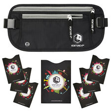 VENTURE 4TH RFID Money Belt for Travel: The Trusted Hidden Waist Stash
