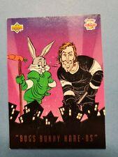 1993 UPPER DECK LOONEY TUNES WAYNE GRETZKY BUGS BUNNY HOCKEY CARD (Card # BBH2)