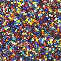 Czech Glass Seed Bead Color Mix One Ounce (1oz) pack Bead Size: 13/0