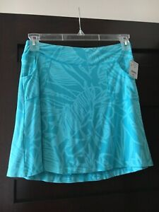 Fresh Produce Women's Cancun City Skort Skirt in Luna Blue Sz Small -  NEW