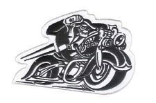 """New 4 1/2"""" X 3"""" Von Dutch Style - Motorcycle Embroidered Patch - MC Patch - HD"""