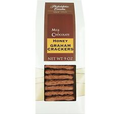 Philadelphia Candies Honey Graham Crackers, Milk Chocolate Covered 9 Ounce Gift