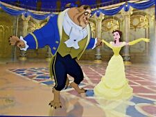 Walt Disney Store Beauty and the Beast Animated Lithograph Poster Print Photo