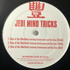 "JEDI MIND TRICKS - RISE OF THE MACHINES (12"") 2003  RARE  EVANESCENCE + RAS KASS"