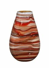 Futura Vase, Hand Crafted Decorative Glass Vase, Luxury Home Accessories