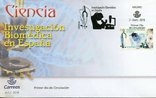 Spain 2018 FDC Biomedical Research in Spain 1v Set Cover Science Stamps