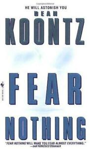 FEAR NOTHING BY DEAN KOONTZ (1998) PAPERBACK BOOK - THRILLER, MYSTERY, HORROR
