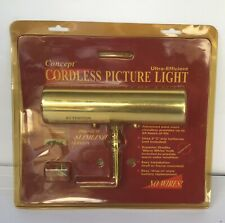 Vintage Concept Lighting Cordless picture light ultra efficient premium SLIMLINE