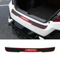 Car Accessories Door Sill Cover Scuff Plate Rear Bumper Guard Protector 90*7.2