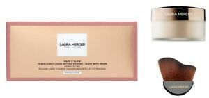 Laura Mercier Make it Glow Translucent Loose Setting Powder + Glow Brush 29g