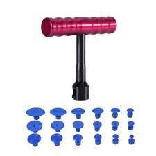 1Set Car 18pcs T-Bar Hammer Puller Lifter Paintless Dent Pit Repair Tool