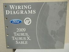 2009 Ford Taurus Sable Electrical Wiring Diagram Manual SE SEL Limited 3.5L V6
