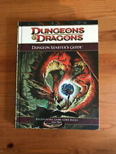 Dungeons & Dragons Dungeon Master's Guide 4th Edition Book Role Playing