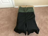 3 available - Cargo Shorts Military Rothco - medium long waist 31 to 35 inches
