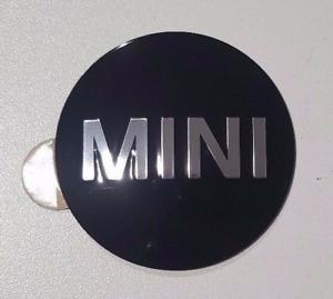 MINI Set of 4 Self-Adhesive Plaque Wheel Centre Hub Cap Badge Stickers 6758687