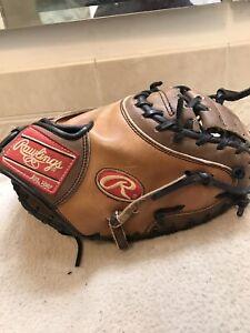 "Rawlings PROCM11 32"" Heart Of The Hide Baseball Catchers Mitt Right Hand Throw"