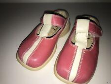 FARO Baby Iris Toddler Girls Pink Pearl Slip On Mary Janes Euro 24 US Sz 8 Mules