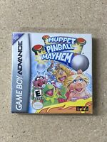 Muppet Pinball Mayhem Nintendo Gameboy Advance Complete Box Mint 0661204044018