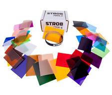 39 pcs Color Gels Filter Mega-Kit For Flash Speedlite Speedlight Strobist New