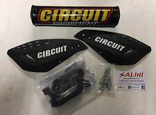 Coppia paramani CIRCUIT Vector Carbon Bianco - Paracolpi Circuit Moto cross