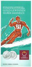 Infofolder 5 Euro : FIS Alpine Ski WM 2013 in Schladming  Keine Münzen