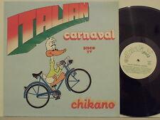CHIKANO disco LP 33 giri ITALIAN CARNAVAL Made in Italy