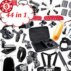 44 in 1 GoPro Session HERO 4 3+ 3 2 1 Accessories Outdoor Sports Bundle Camp Kit